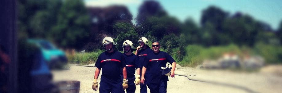 Site des sapeurs-pompiers de la commune de Bardonnex